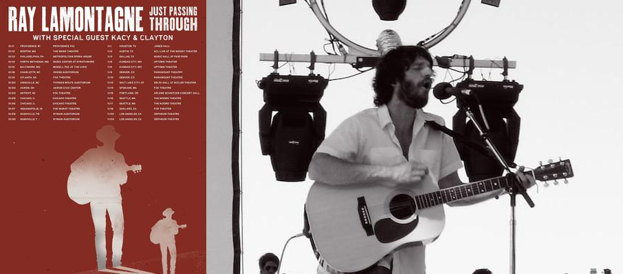 Ray LaMontagne at Fabulous Fox Theater