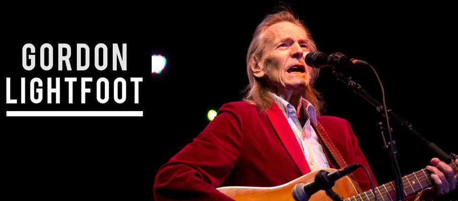 Gordon Lightfoot at Cobb Energy Performing Arts Centre