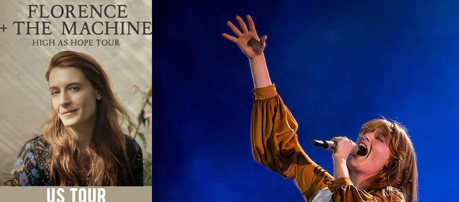Florence and the Machine at Verizon Wireless Amphitheatre