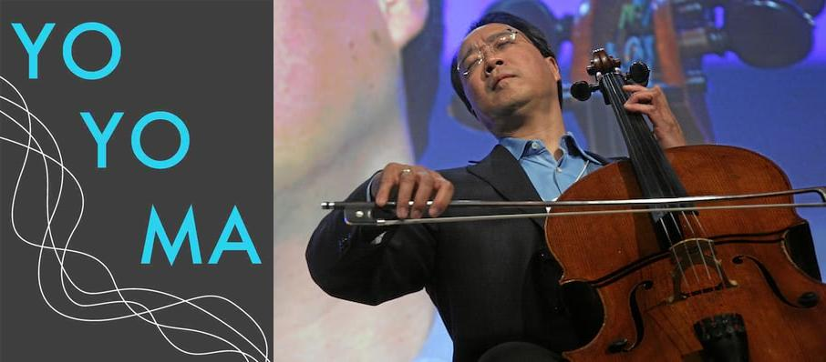 Yo-Yo Ma at Atlanta Symphony Hall
