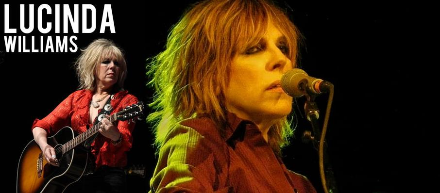 Lucinda Williams at Buckhead Theatre