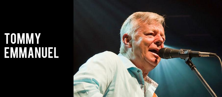 Tommy Emmanuel at Miller Theater Augusta