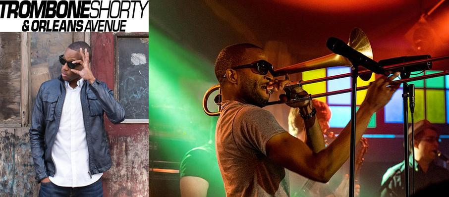 Trombone Shorty And Orleans Avenue at Terminal West