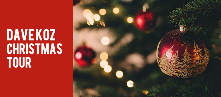 Dave Koz Christmas Tour at Cobb Energy Performing Arts Centre