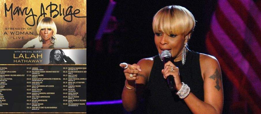 Mary J. Blige at Fabulous Fox Theater