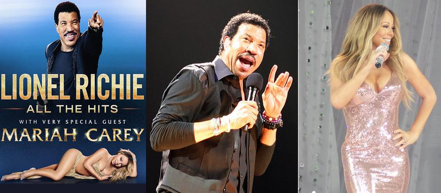 Lionel Richie with Mariah Carey at Infinite Energy Arena