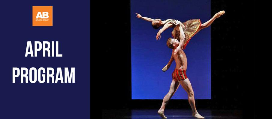 Atlanta Ballet - April Program at Cobb Energy Performing Arts Centre