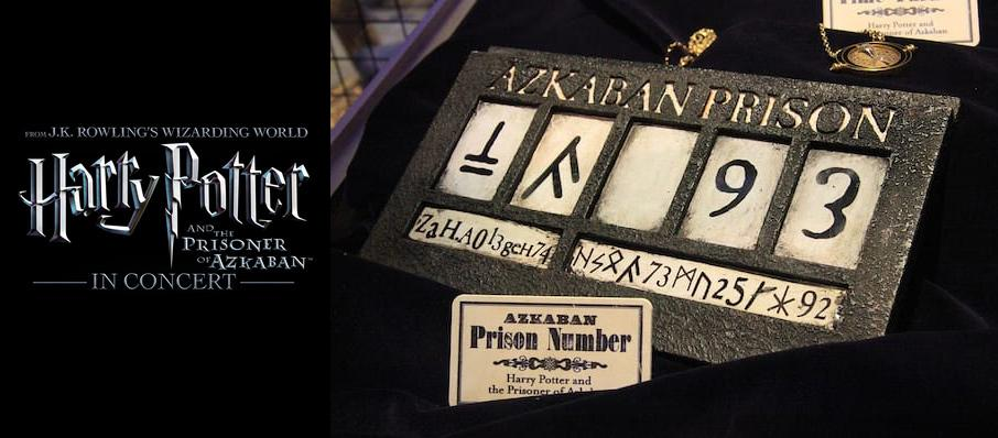 Harry Potter and the Prisoner of Azkaban in Concert at Atlanta Symphony Hall
