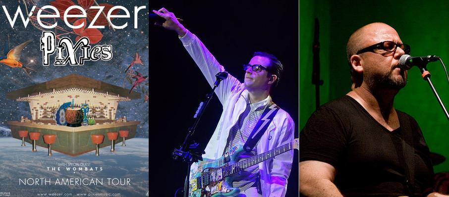 Weezer and Pixies at Lakewood Amphitheatre