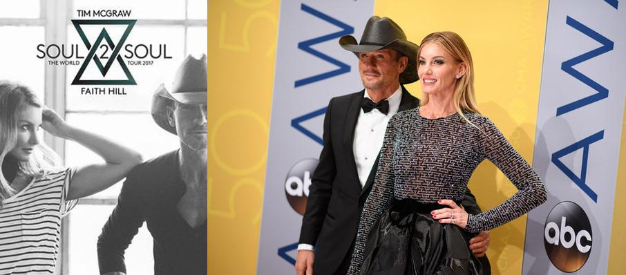 Tim McGraw and Faith Hill at Infinite Energy Arena