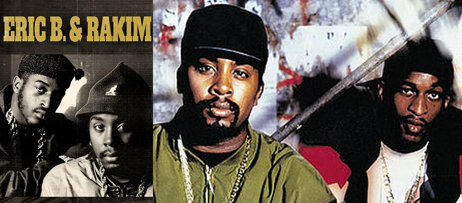 Eric B and Rakim at Tabernacle