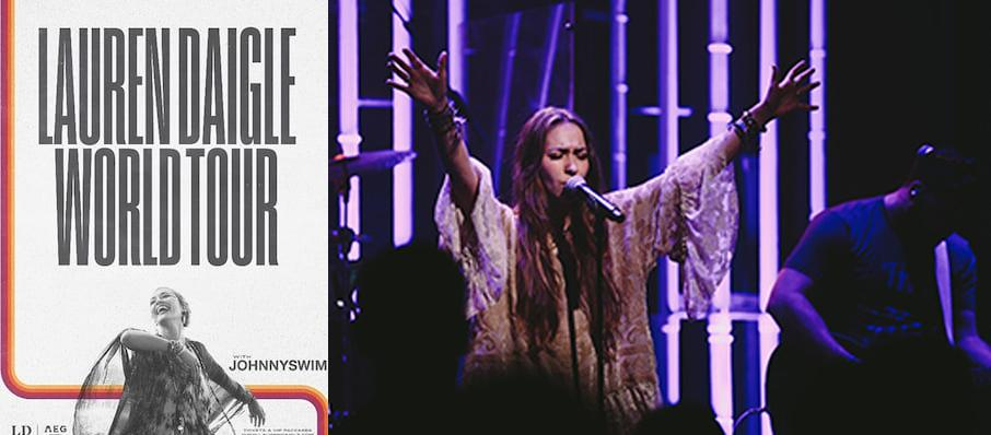 Lauren Daigle at State Farm Arena