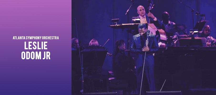 Atlanta Symphony Orchestra - Leslie Odom Jr at Atlanta Symphony Hall