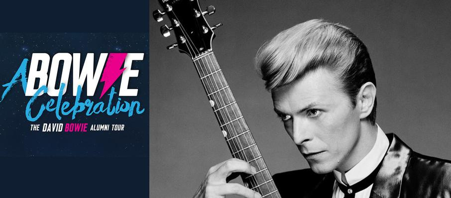 A Bowie Celebration - The David Bowie Alumni Tour at Center Stage Theater
