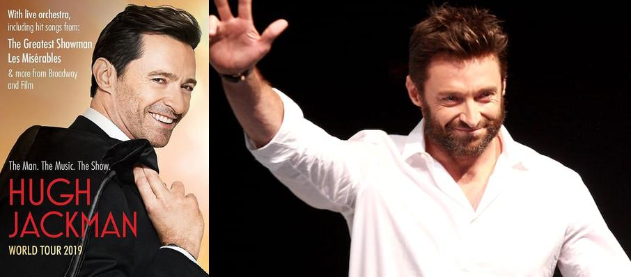 Hugh Jackman at State Farm Arena