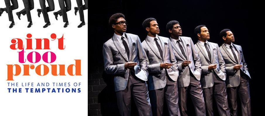 Ain't Too Proud - The Life and Times of the Temptations at Fabulous Fox Theater