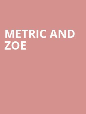 Metric and Zoe at Tabernacle