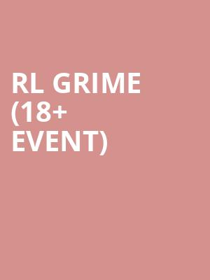 RL Grime %2818%2B Event%29 at Tabernacle