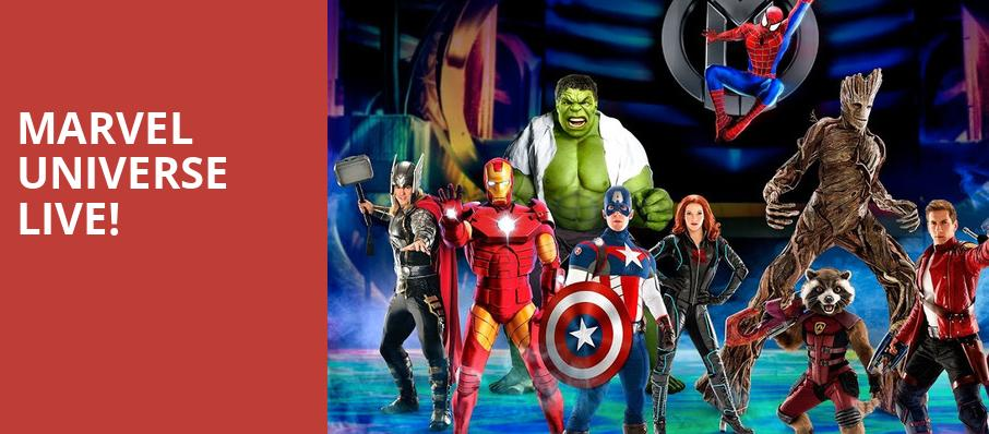 Marvel Universe Live, Infinite Energy Arena, Atlanta
