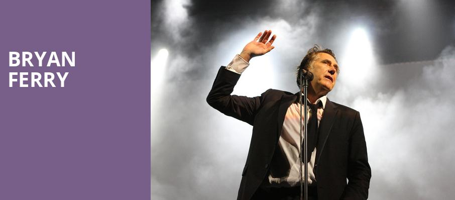Bryan Ferry, Tabernacle, Atlanta