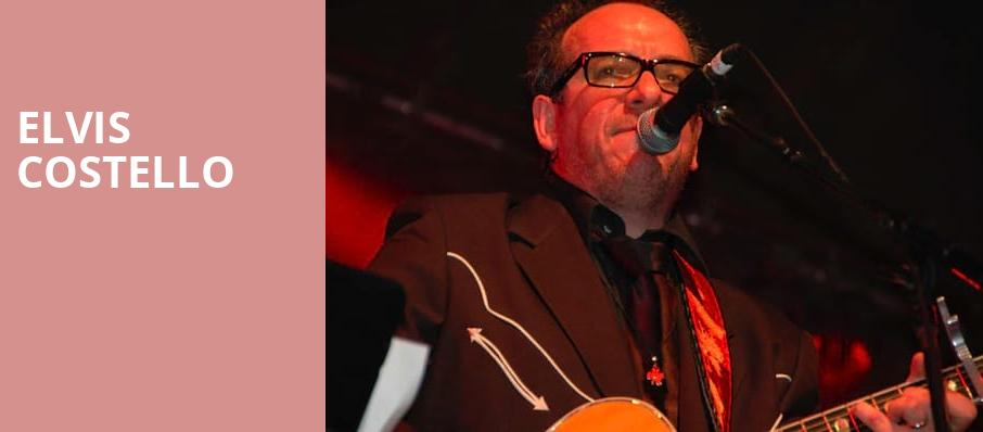 Elvis Costello, Coca Cola Roxy Theatre, Atlanta