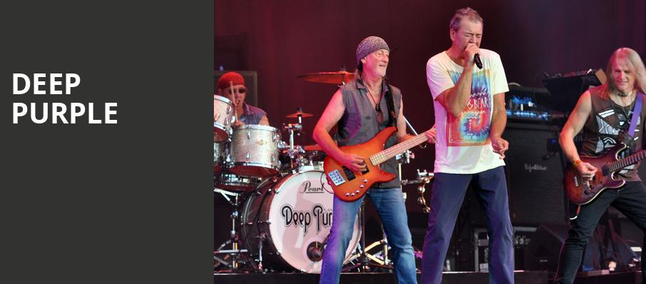 Deep Purple, Chastain Park Amphitheatre, Atlanta