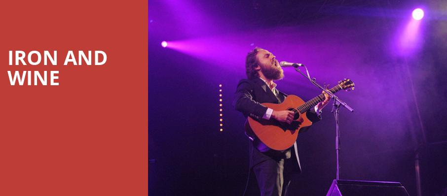 Iron and Wine, Miller Theater Augusta, Atlanta