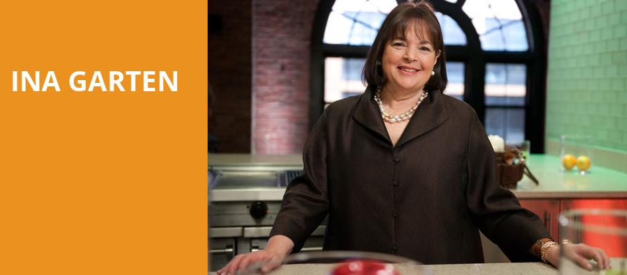 Ina Garten, Cobb Energy Performing Arts Centre, Atlanta