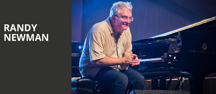 Randy Newman, Atlanta Symphony Hall, Atlanta