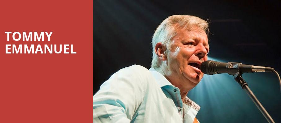 Tommy Emmanuel, City Winery Atlanta, Atlanta