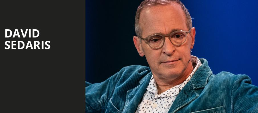 David Sedaris, Fabulous Fox Theater, Atlanta