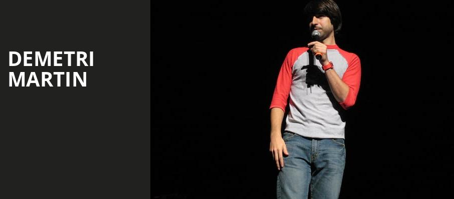 Demetri Martin, Center Stage Theater, Atlanta