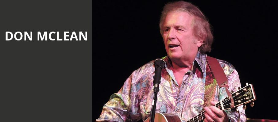 Don McLean, City Winery Atlanta, Atlanta