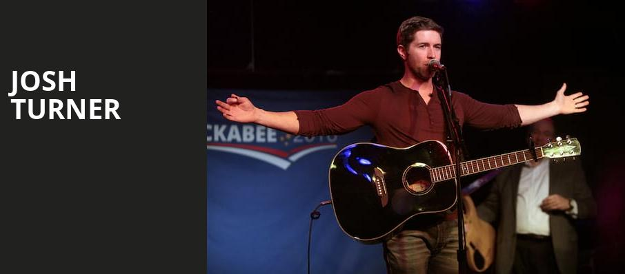 Josh Turner, Miller Theater Augusta, Atlanta