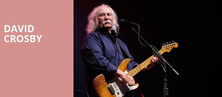 David Crosby, Variety Playhouse, Atlanta