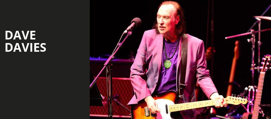 Dave Davies, City Winery Atlanta, Atlanta