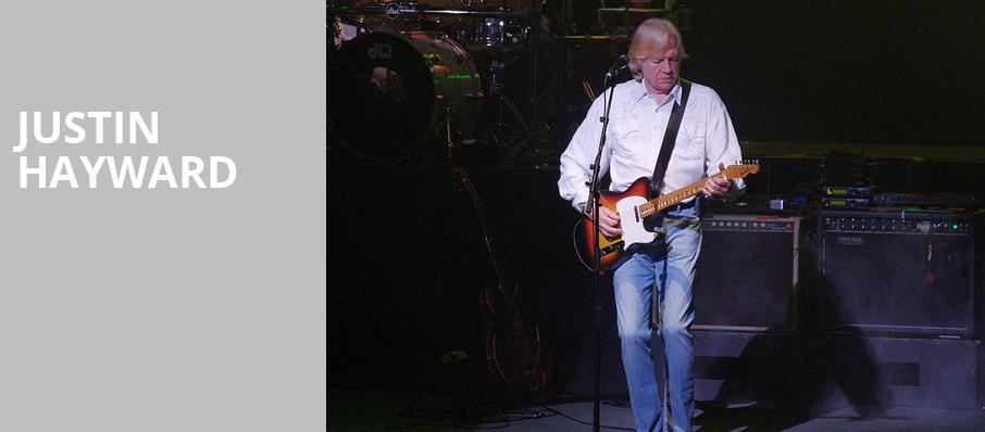 Justin Hayward, Center Stage Theater, Atlanta