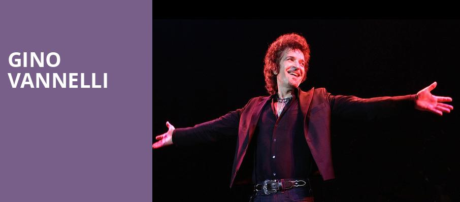 Gino Vannelli, Center Stage Theater, Atlanta