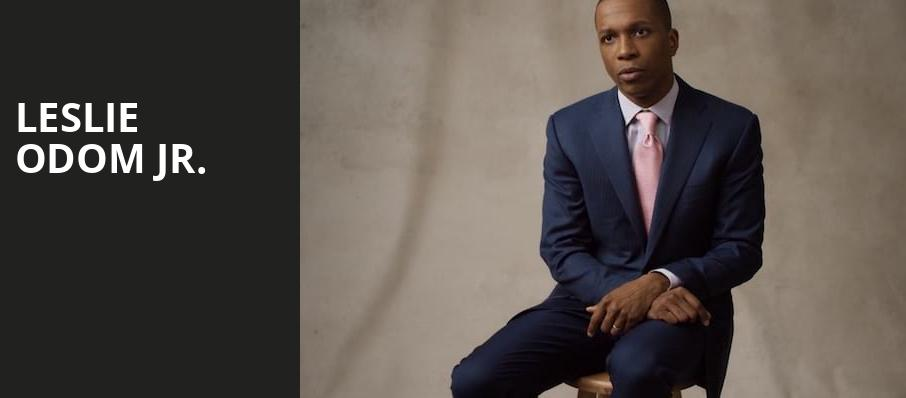 Leslie Odom Jr, Variety Playhouse, Atlanta
