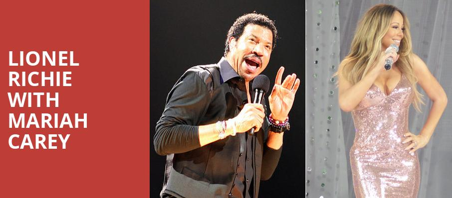 Lionel Richie with Mariah Carey, Infinite Energy Arena, Atlanta