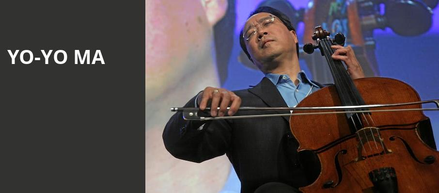 Yo Yo Ma, Atlanta Symphony Hall, Atlanta