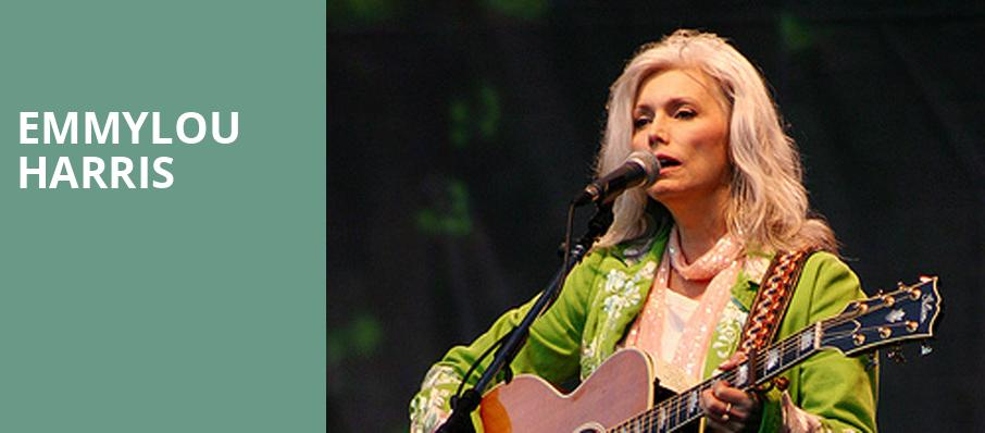 Emmylou Harris, Atlanta Symphony Hall, Atlanta