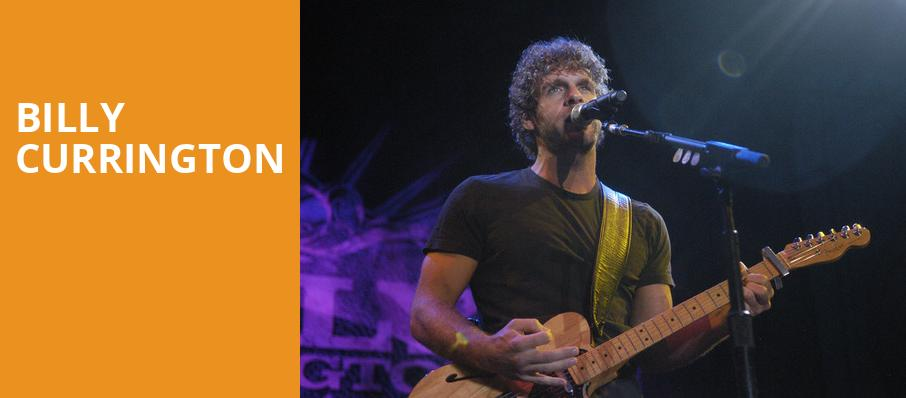 Billy Currington, Coca Cola Roxy Theatre, Atlanta