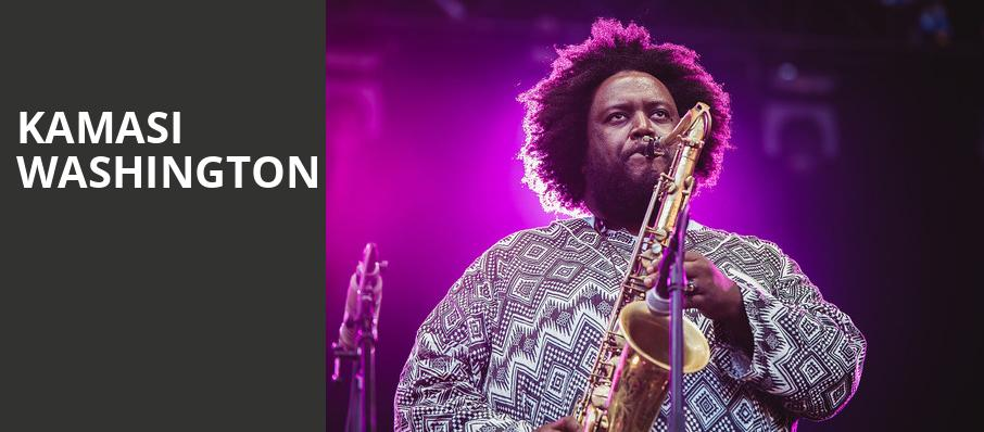 Kamasi Washington, Buckhead Theatre, Atlanta