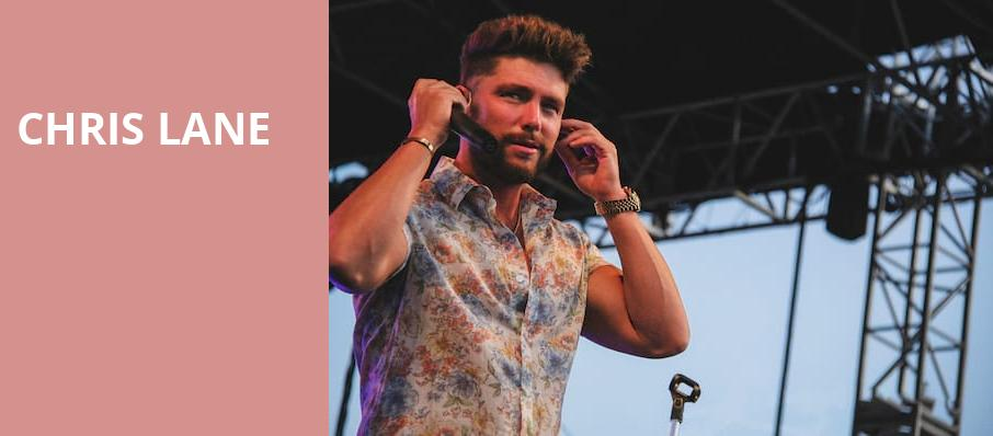 Chris Lane, Buckhead Theatre, Atlanta