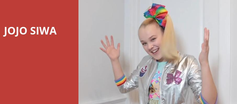 Jojo Siwa, Infinite Energy Arena, Atlanta