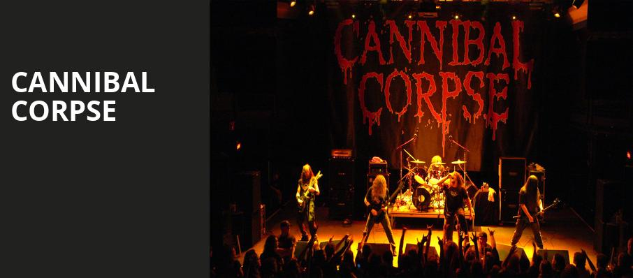 Cannibal Corpse, Kennys Alley, Atlanta