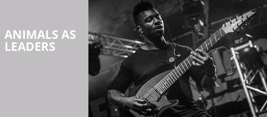 Animals As Leaders, Kennys Alley, Atlanta