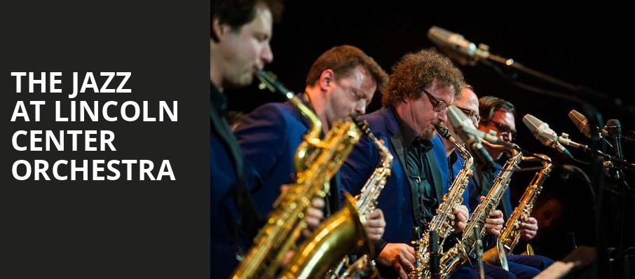 The Jazz at Lincoln Center Orchestra, Atlanta Symphony Hall, Atlanta