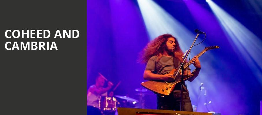Coheed and Cambria, Coca Cola Roxy Theatre, Atlanta